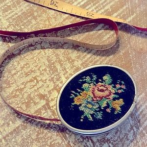 Vintage German Embroidered Sewing Tape Measure